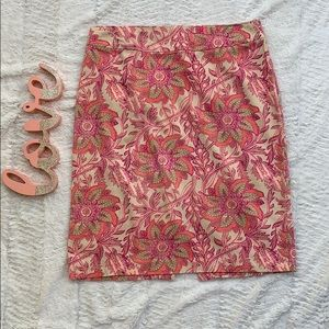 💎5/$25💎Jacklyn Smith Pink Floral Skirt